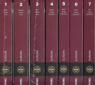 Michel Europe 2016/2017 7 volumes complete II. Choice