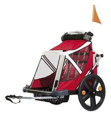 Bellelli Trailer Kids Bikes 2 Places  Red