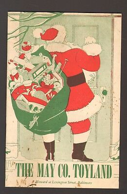Undated The May Co Toyland Christmas Kids Fun Booklet Baltimore MD