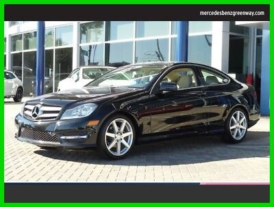 2013 Mercedes-Benz C-Class C 250 2013 C 250 Used Certified Turbo 1.8L I4 16V Automatic Rear Wheel Drive Coupe