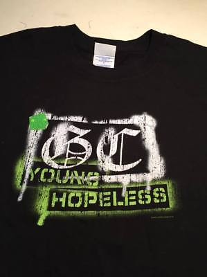 """GOOD CHARLOTTE """" The Young & The Hopeless """" (LARGE) Black T-shirt"""