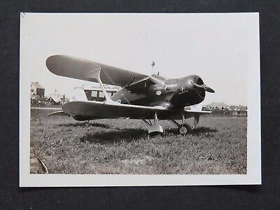 Original 1930's Photograph - Beechcraft Staggerwing - 225hp Jacobs