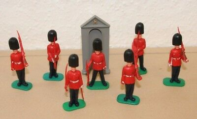Timpo Guardmen - Set Of 7 - Reasonable Condition
