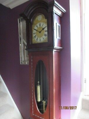 Impossing  Edwardian Longcase Clock ,  Westminster chime.