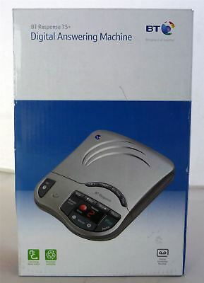 BT Response 75+ 75 Plus Answering Machine - Grey