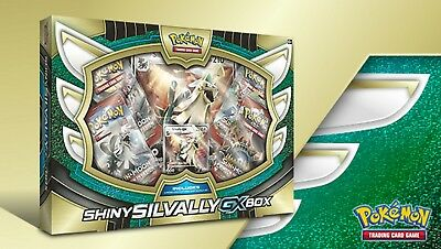 Pokemon TCG: Shiny Silvally-GX Box (Pre-Order)