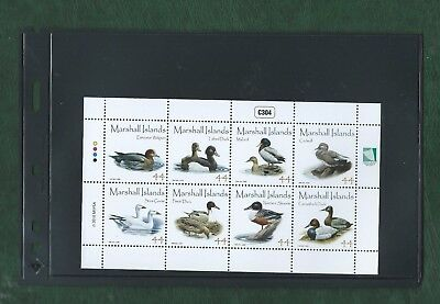 Marshall Islands 2010 Sheetlet of 8 different Ducks stamps unmounted mint MNH
