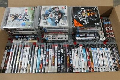 HUGE WHOLESALE LOT 100 PS3 Playstation 3 Games!