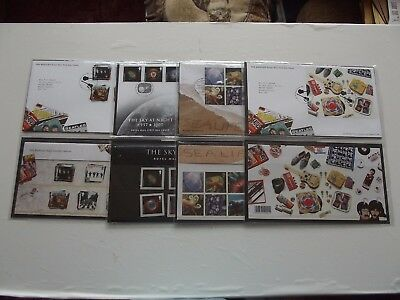2007,Presentation Packs x 4 + Illustrated 1st Day Covers with Special Post Marks