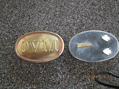 Civil War OVM belt buckle