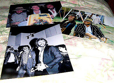 ( Pack 4  ) Bee Gees  Large  Photographs Barry Robin Maurice Gibb