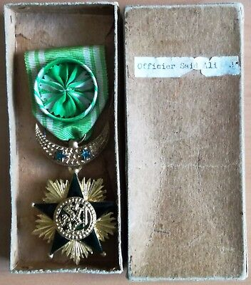 COMOROS RARE Order of the Star of Grand Comoro 4th class!!!,French Protectorate