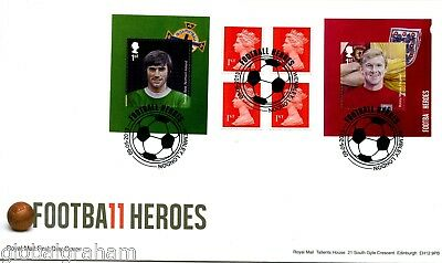 2013 Football Great Britain Self Adhesive Retail Booklet Royal Mail Illus. Fdc