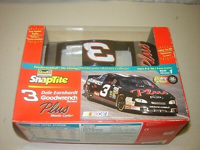 Revell 1311 DALE EARNHARDT #3 Goodwrench Monte Carlo 1/24 Snaptite Model Sealed