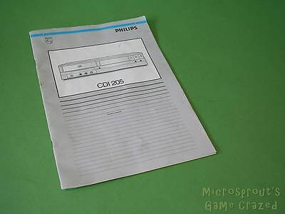 Philips CDI 205 Owner's Manual / Instruction Guide