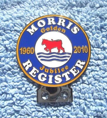 Superb 2010 Morris Golden Jubilee Car Badge-Vintage/old Minor/isis/cowley/oxford