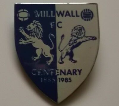 Old Millwall Centenary Badge