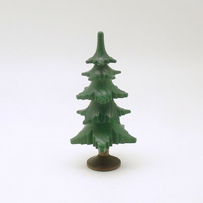 Miniature Wood Tree Christmas Decoration Made in Germany
