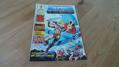 Vintage Masters Of The Universe Comic No 25 1987 Excellent