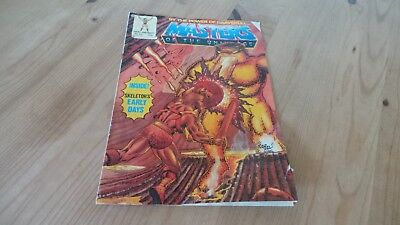 Vintage Masters Of The Universe Comic No 52 1988