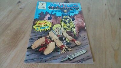 Vintage Masters Of The Universe Comic No 58 1988 Excellent