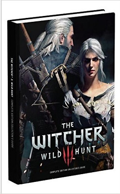 The Witcher 3 Wild Hunt Game Of The Year Collectors Guide - Pre-Owned (See Detai