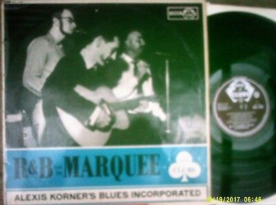 """ALEXIS KORNER BLUES INC. ~ """"R&B From The Marquee"""" (ACL) UK 1962 - MONO ORIGINAL!"""