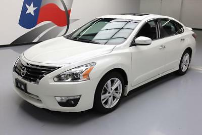 2015 Nissan Altima  2015 NISSAN ALTIMA 2.5 SL SEDAN LEATHER SUNROOF NAV 21K #215104 Texas Direct