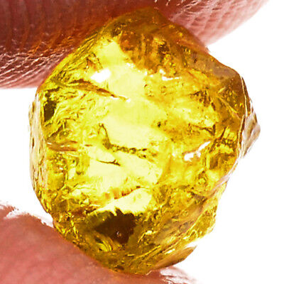 IF HIGH QUALITY 2.40ct NATURAL100% UNHEATED YELLOW MALI GARNET ROUGH FACET NR!