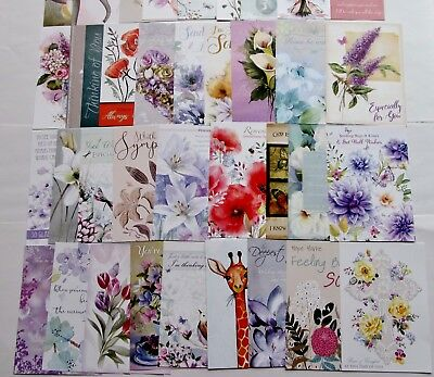 Hunkydory Little Book of Thinking Of You Toppers x 24 Sheet