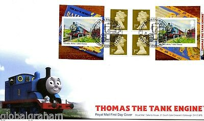 2011 Thomas The Tank Great Britain Self Adhesive Retail Booklet Royal Mail Fdc