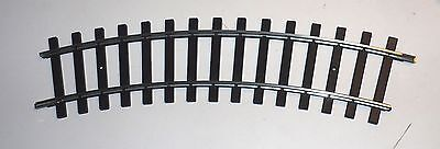5921 Marklin Scale 1 gauge CURVED track 30 DEGREES, one each, old coupler style