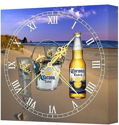 LIGHTED Corona Bar Clock