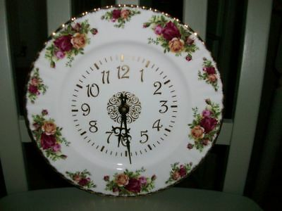 Royal Albert Old Country Roses Wall Clock.
