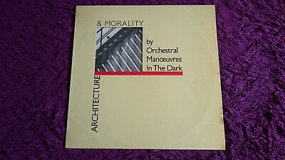 OMD - Architecture & Morality , Vinyl, LP, 1981 , Spain ,  I-204016