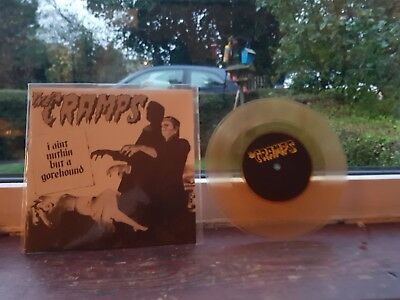 the cramps i aint nothing but a gorehound rare yellow music records