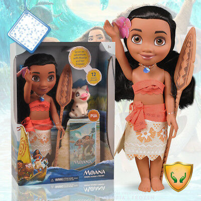 Disney Princess Adventure Moana and Pua Doll - 14in Free Shippng