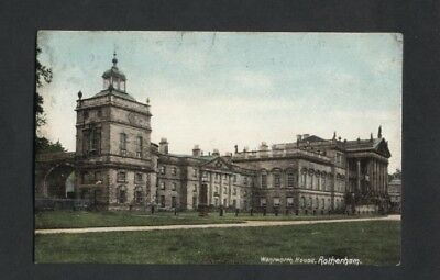 Wentworth House.near Rotherham,barnsley Used 1907 Tp Killamarsh.
