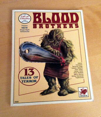 Call of Cthulhu Chaosium - Blood Brothers - B-Movie Horror-Abenteuersammlung