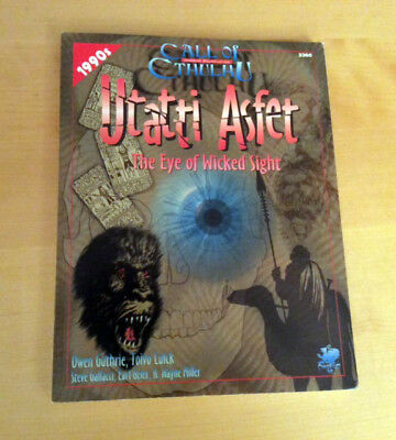 Call of Cthulhu Chaosium - Utatti Asfet: The Eye of Wicked Sight (90er Jahre)