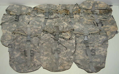 7X Sustainment Pouch, Molle II ACU, Military Issue, ITEMS HAVE MINOR ISSUES(2)