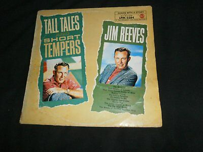 Jim Reeves Tall Tales And Short Tempers Lp (Germany)