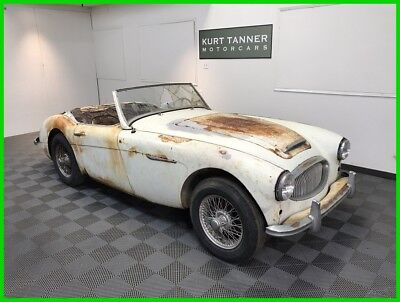 1962 Austin Healey 3000 1962 AUSTIN HEALEY 3000 MK 2 BT-7. TRIPLE-CARB ROADSTER. TRI-CARB ROADSTER LATE CENTERSHIFT.  EXCELLENT, UNRESTORED, ORIGINAL AR/CA CAR.