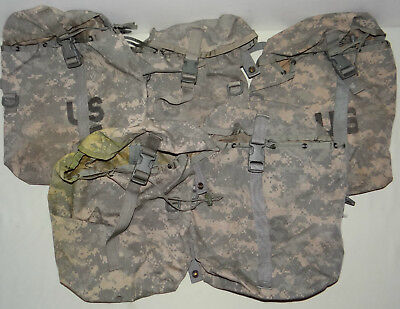 5X Sustainment Pouch, Molle II ACU, Military Issue, ITEMS HAVE MINOR ISSUE(2)