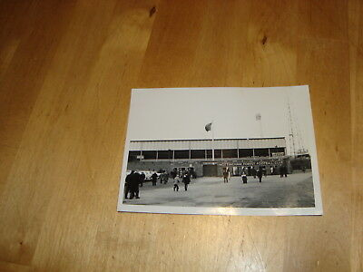 Nottingham Forest, old photograph of City Ground early 1960's