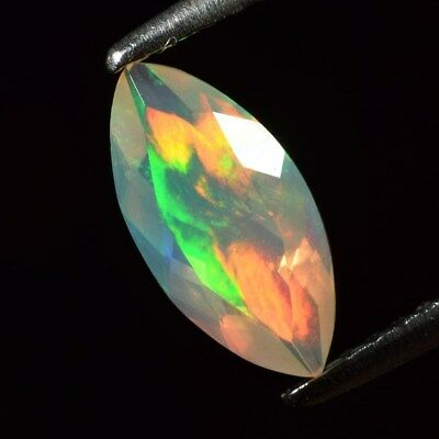 Good Flash 0.73ct 10.2x5mm Marquise Natural Play-of-Color Crystal Welo Opal