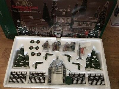 Department 56 The Christmas Carol Revisited 21 Piece Holiday Trimming Set 5831-9