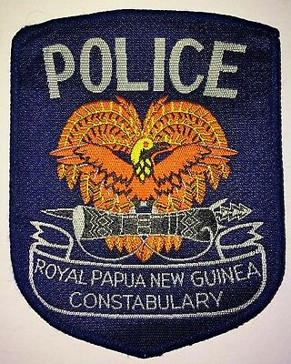 "Royal Papua New Guinea Constabulary - ""Bird of Paradise"" Police Patch"