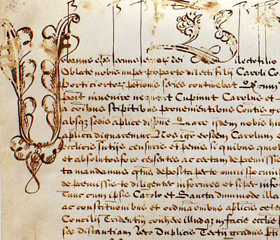 PAPAL BULL for POPE URBAN VIII, Dated 1638 Signed in ROME on PARCHMENT in LATIN