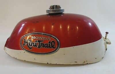 Honda Mini Trail Fuel Tank Original Paint